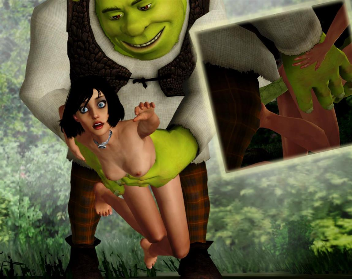 shrek old how from donkey is One piece nami and robin naked