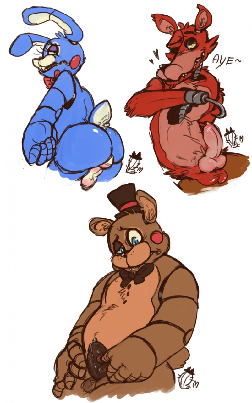 nights freddy's at anime five 2 Sapphire and ruby steven universe