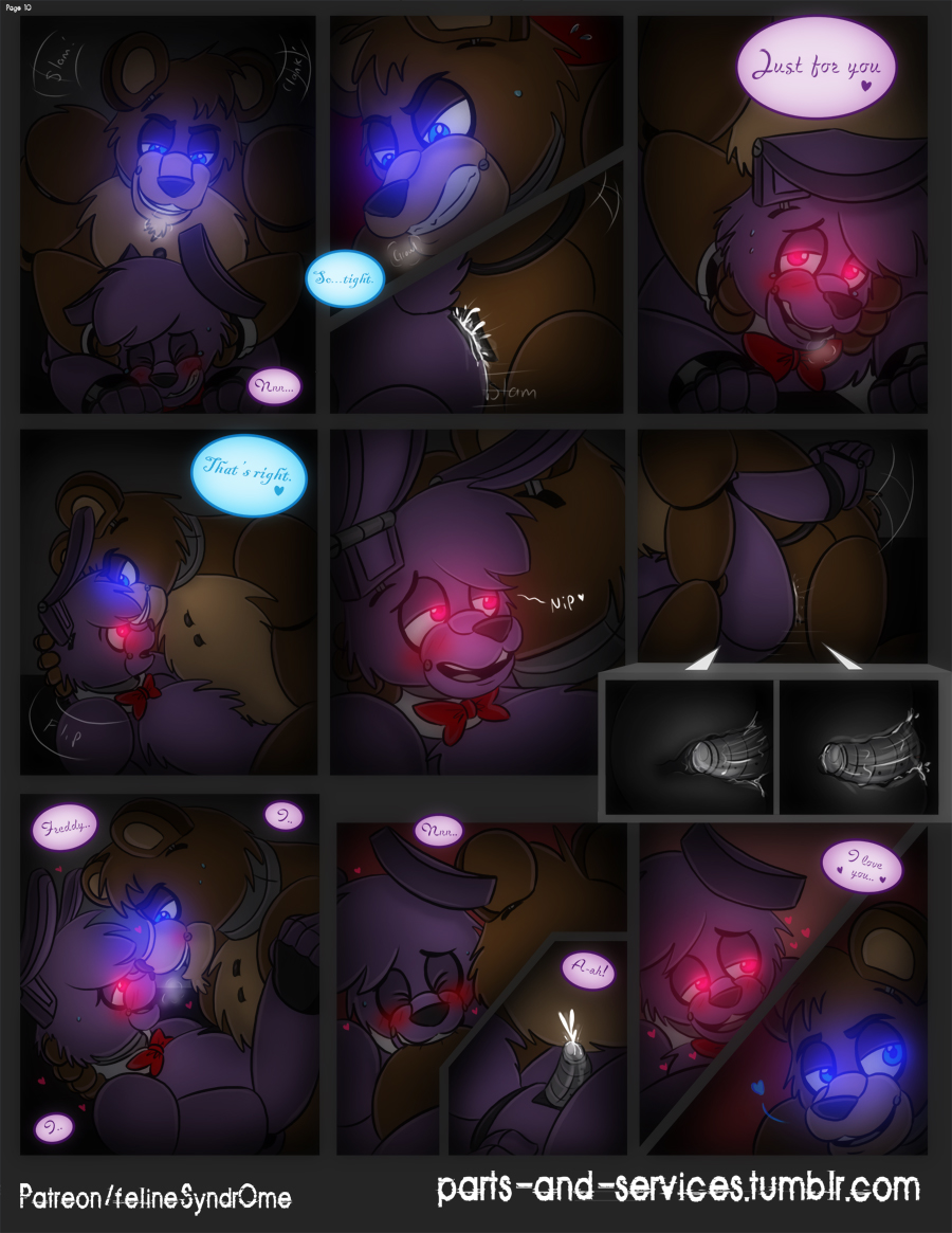 at nights five pictures freddy's of bonnie Jordis the sword-maiden mod