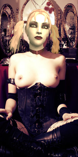 vampire nines bloodlines the masquerade Princess peach naked boobs exposed