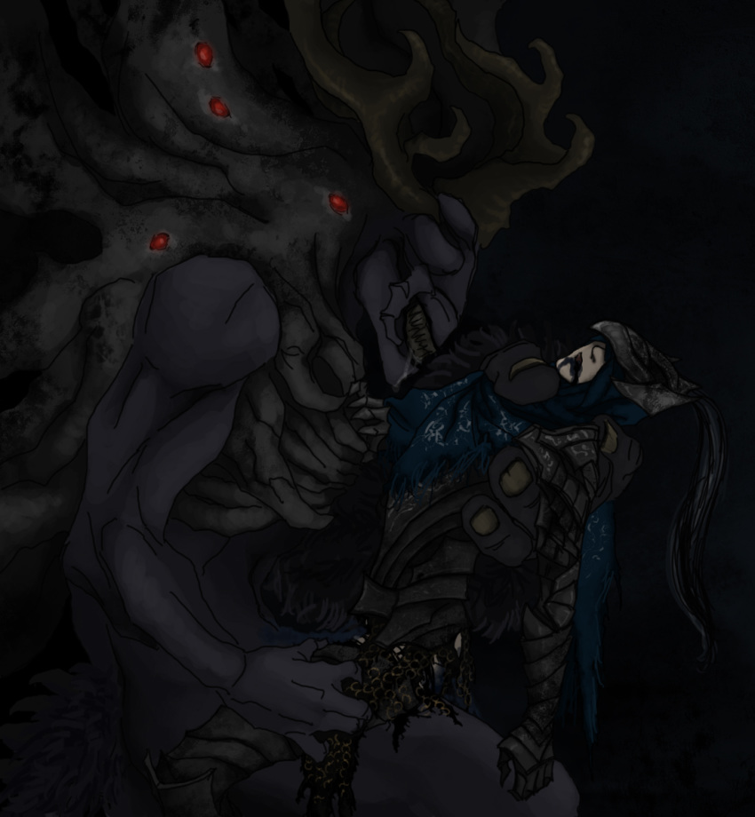 souls grab dark 2 ogre Highschool dxd rias and issei fanfiction