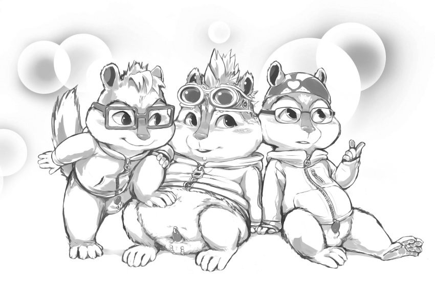 the chipmunks gay and alvin Busty anime girls in bikinis