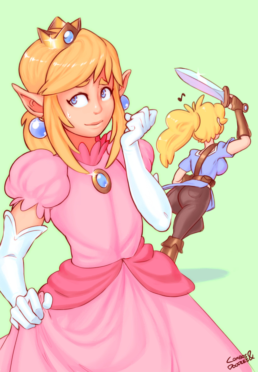 peach princess and daisy naked Remember to only have one waifu