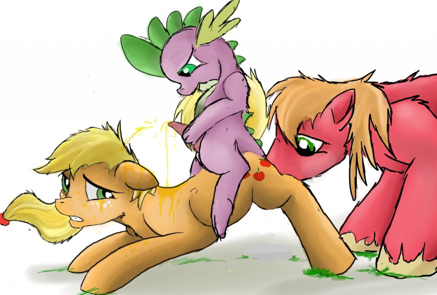 fanfiction applejack spike and mlp Jessica alba bound and gagged