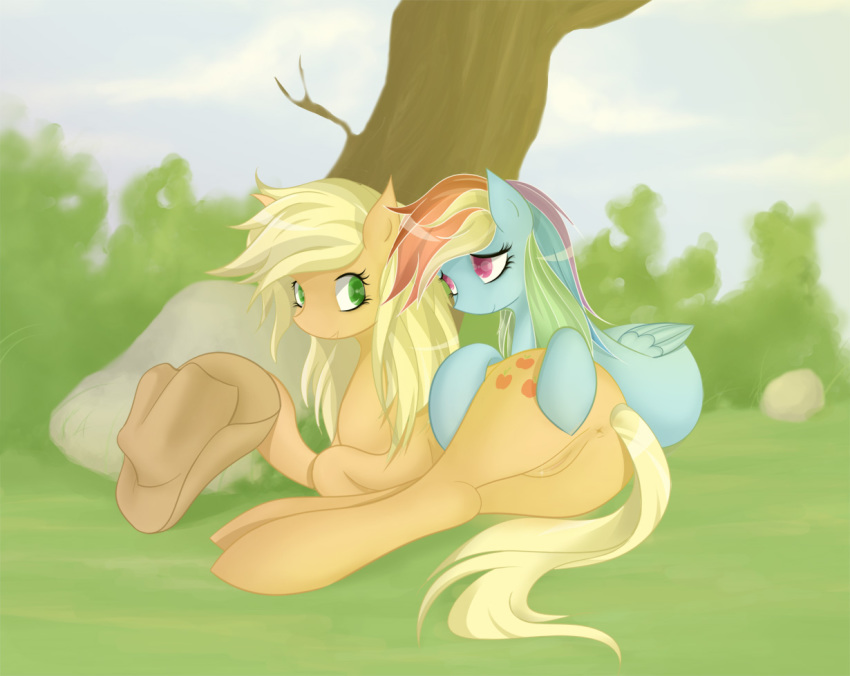 dash applejack rainbow human and Steven universe now were only falling apart